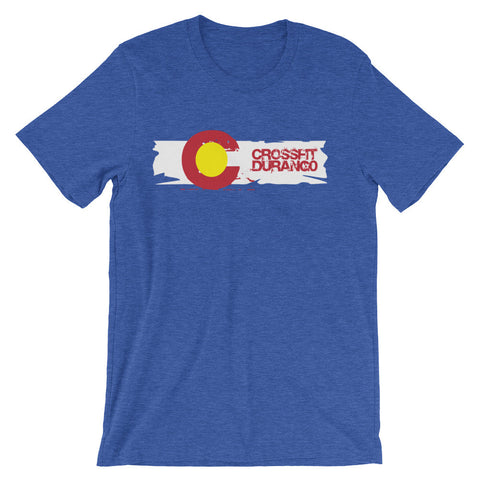 Old School CrossFit Durango Design - Men's Tee