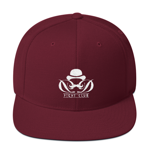 Dapper Dan Fight Club - Maroon Snapback Hat