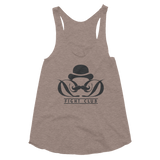 Dapper Dan Fight Club - Women's Tri-Blend Racerback Tank