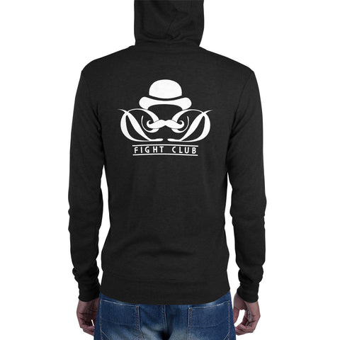 Dapper Dan Fight Club - Unisex zip hoodie