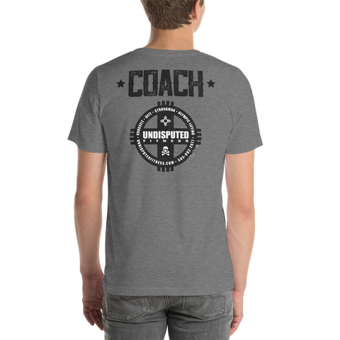 Undisputed Fitness Coach's Tee New Logo - Short-Sleeve Unisex T-Shirt