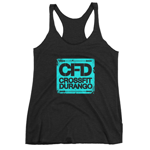Roughed CFD Logo - Women's Tank Top