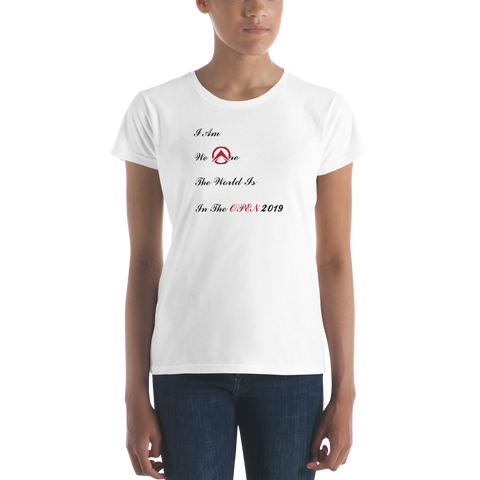 CrossFit Agoge Open 2019 - Women's short sleeve t-shirt