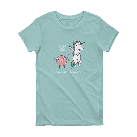 CrossFit Durango Unicorns and Donuts - Women's Tee
