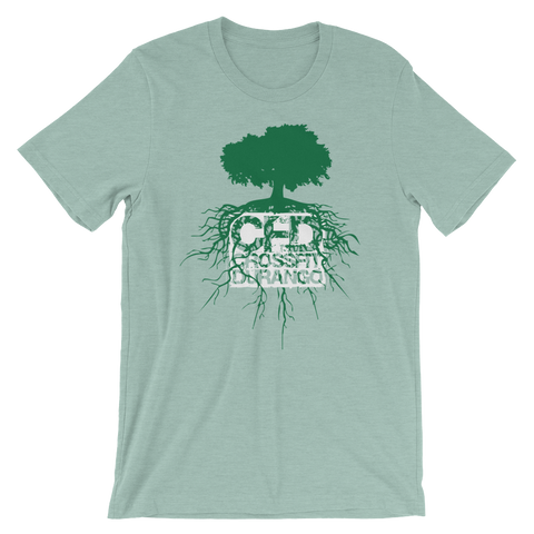 CrossFit Durango Tree Roots - Short-Sleeve Unisex T-Shirt