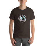 CrossFit Durango Simple Mountains - Short-Sleeve Unisex T-Shirt