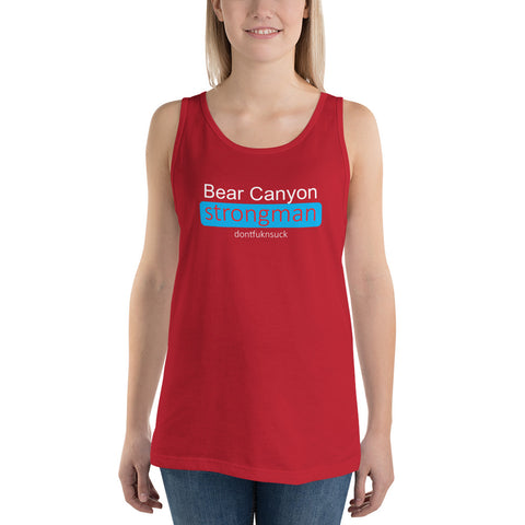 Bear Canyon CrossFit and Strongman - Unisex  Tank Top