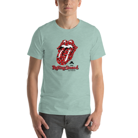 Dapper Dan Rolling Stoned - Short-Sleeve Unisex T-Shirt