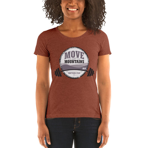 Move The Mountains CrossFit Event - Ladies' short sleeve t-shirt