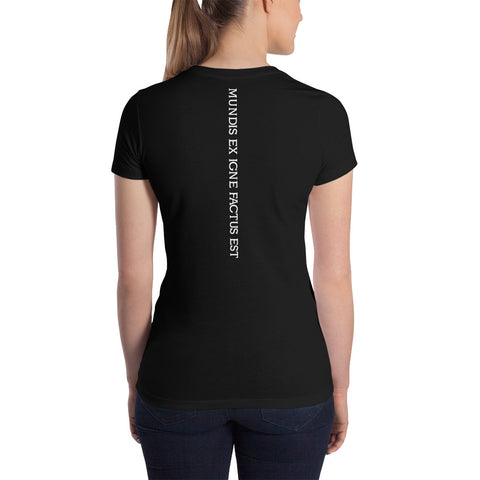 CrossFit Agoge Martine - Women's Slim Fit T-Shirt