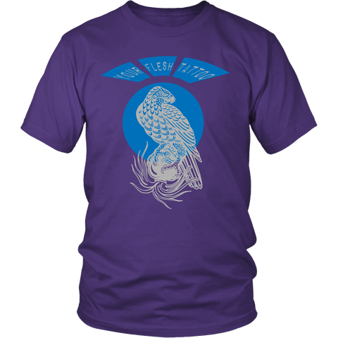 Your Flesh Tattoo, Spilling Heart Eagle - Men's Tee