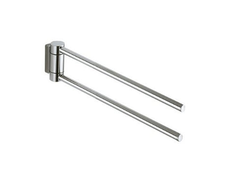 Keuco Plan 14919010000 Hand Towel Rail 2-Parts 30 cm Chrome-Plated by Keuco