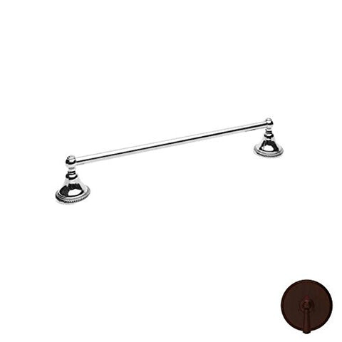 "Newport Brass 15-02 24"" Amisa Solid Brass Towel Bar, Venetian Bronze"