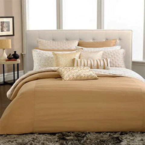INC International Concepts Incline Gold California King Bedskirt