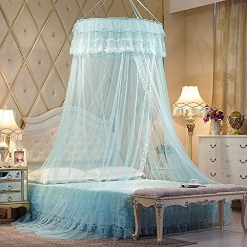 Skydue Tulle Lace Princess Bed Canopy Mosquito Net Dome Netting Bedding Bed Canopies & Skydue Tulle Lace Princess Bed Canopy Mosquito Net Dome Netting ...