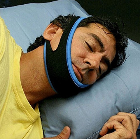 Snoring Chin Strap,Anti Snore Chin Strap,Anti Snore Belt, Anti Snore Jaw Belt with 12cm Velcro for Man and Women