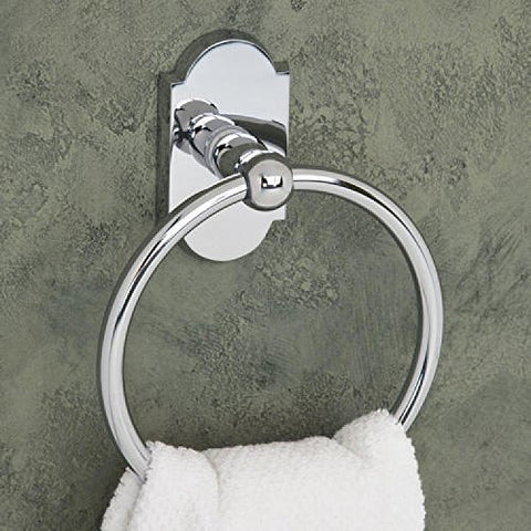 Naiture Ancients Towel Ring In Chrome Finish