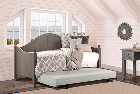 Hillsdale Augusta Daybed - Suspension Deck Frame and Roll-Out Trundle Bed Included