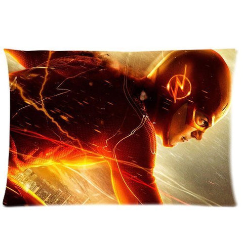 Cute Design Standard Size 20x30 Two Side Print Hot TV Series Comic The Flash Grant Gustin Cool Man Pillowcases Protector gift for kids-7