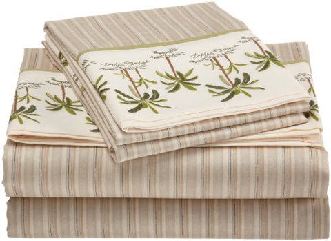 croscill fiji full sheet set 4piece