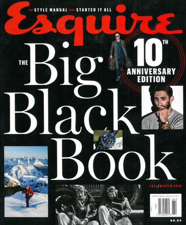 ESQUIRE'S BIG BLACK BOOK | SEPTEMBER 2016