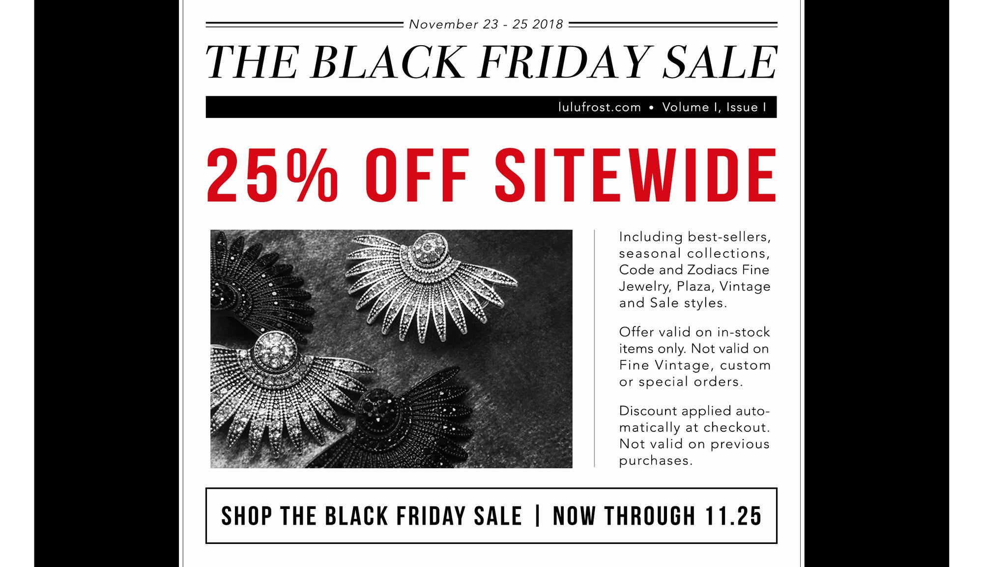 Shop 25% Off Sitewide