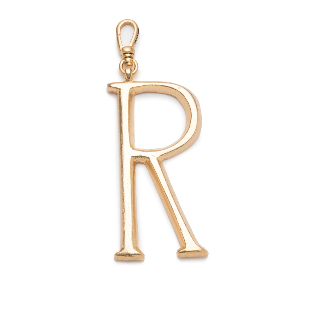 Plaza Letter R Charm - Photo