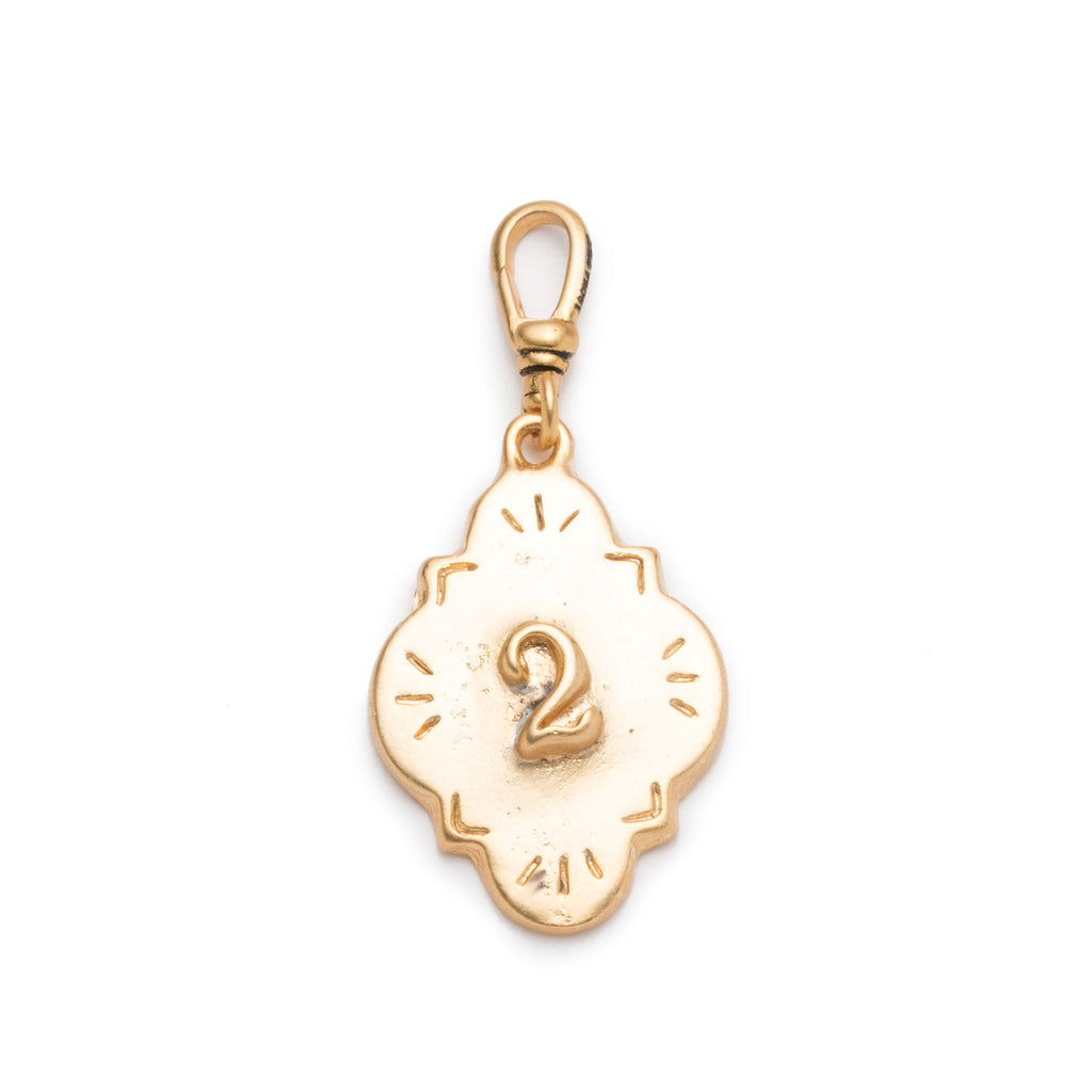 Coin Number Charm #2 - Photo
