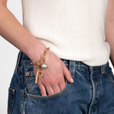 Plaza Oval Link Chain Bracelet Base