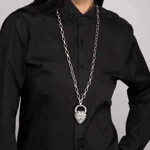 Nina Long Pendant - Clear