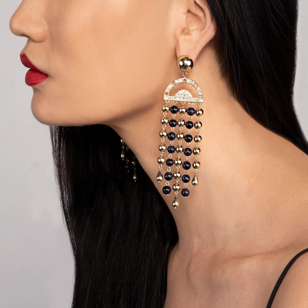 Tela Statement Earring - Photo