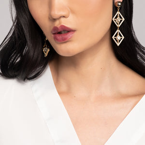 Enigma Statement Earring
