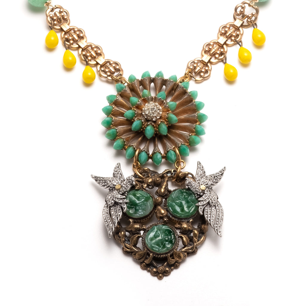 Vintage Aviary Passage Necklace - Photo