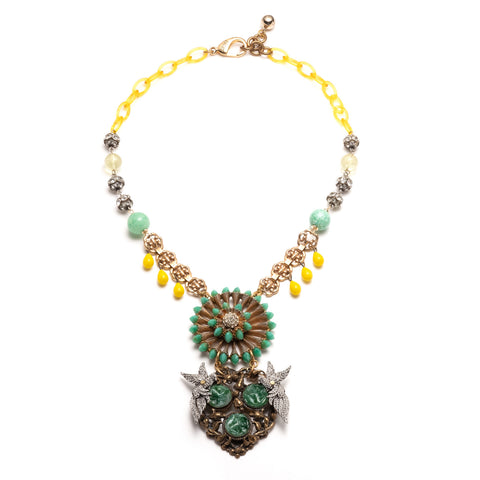 Vintage Aviary Passage Necklace