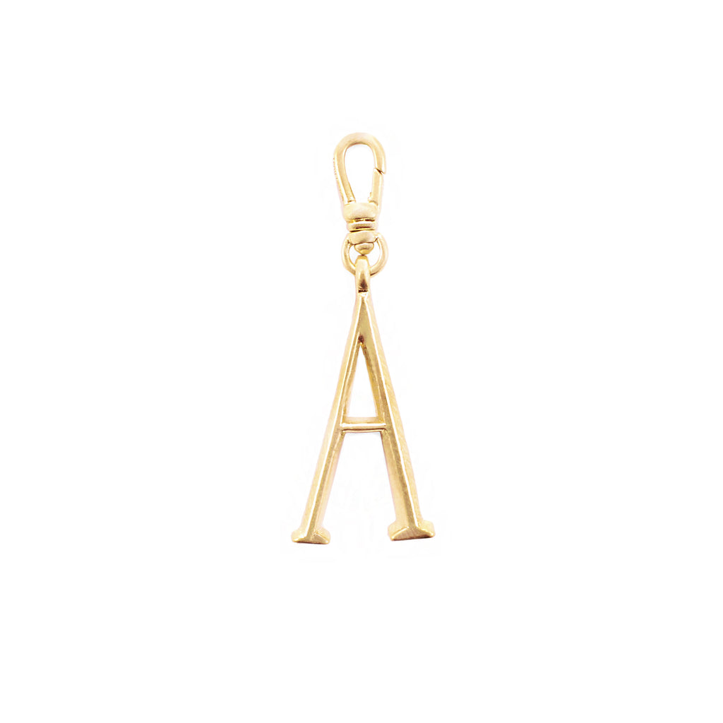 Plaza Letter A Charm - Small