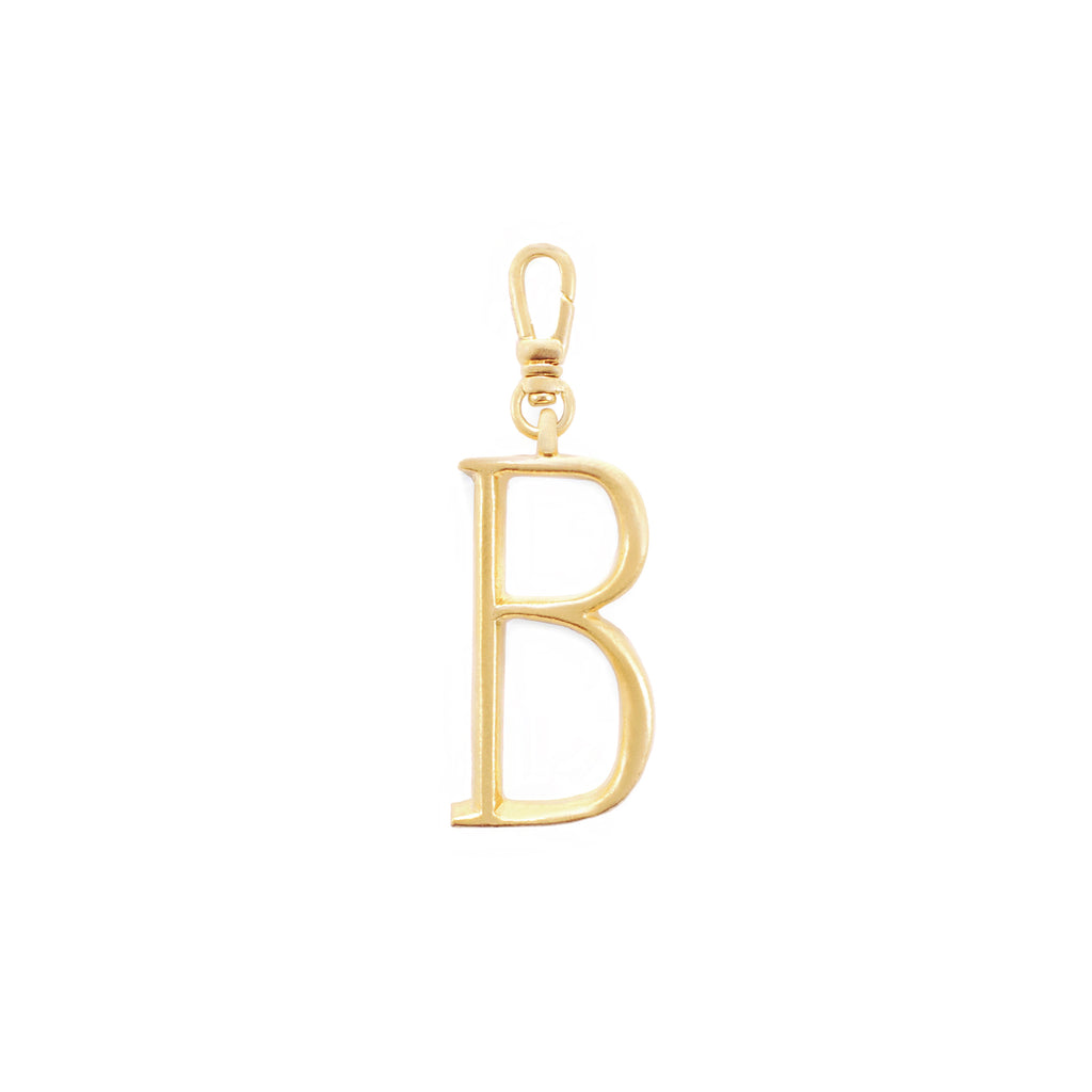 Plaza Letter B Charm - Small