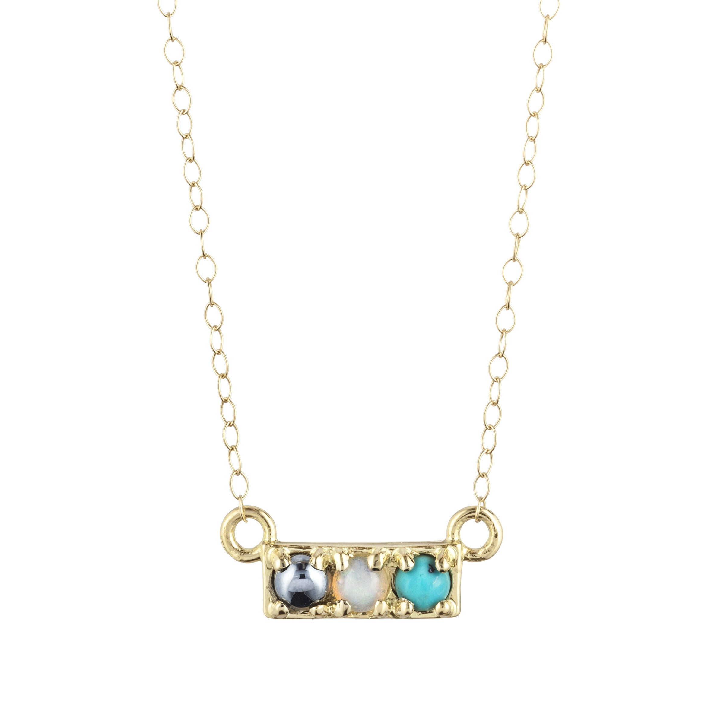 Code Word Hot Necklace 18K Gold