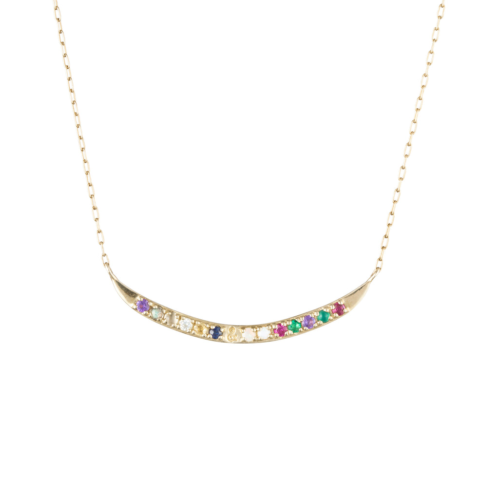Code Word Always & Forever Necklace 10K Gold