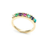 CODE Word Dearest Ring 14k Gold
