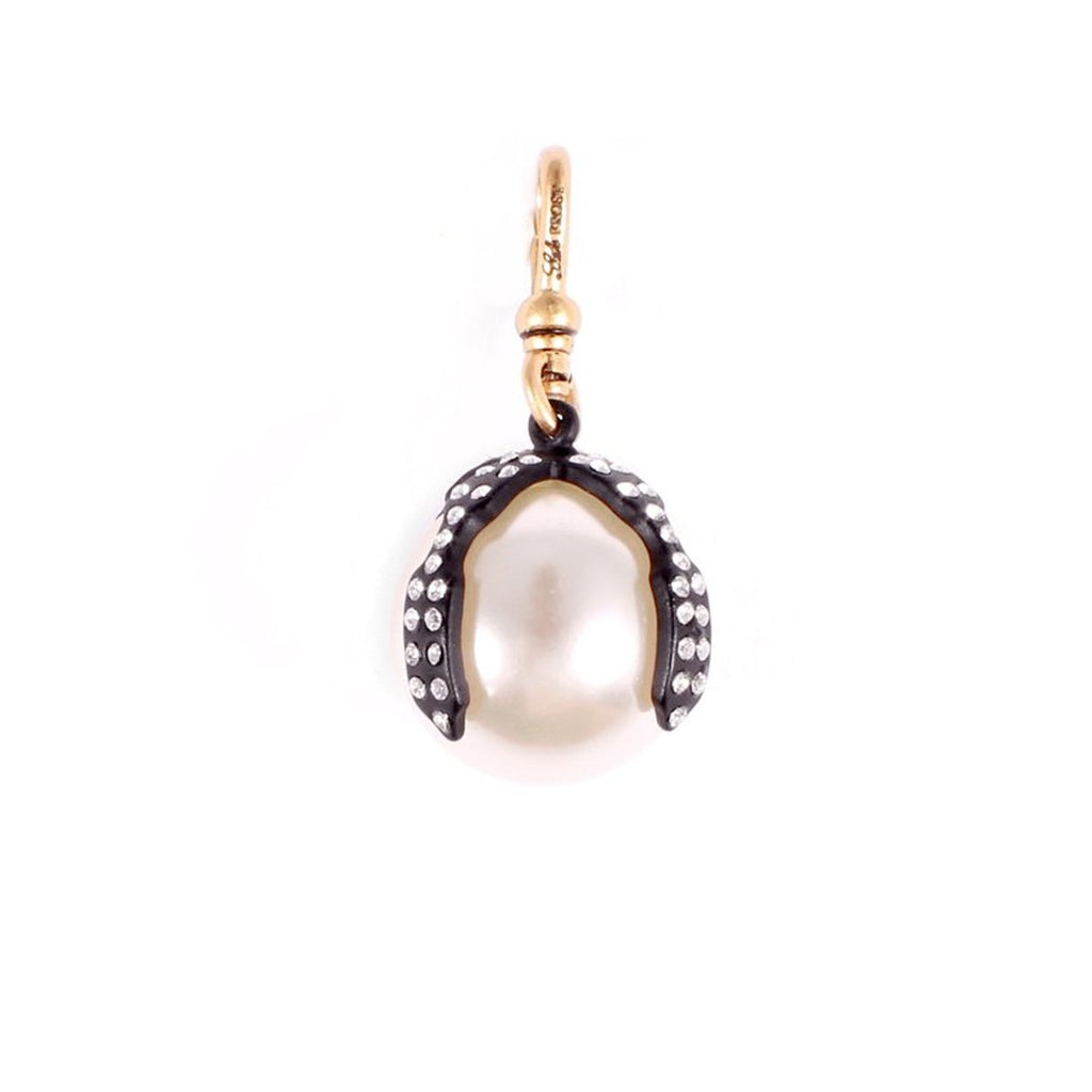 Decade Caged Pearl Charm - Photo