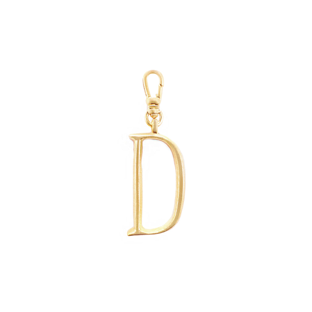 Plaza Letter D Charm - Small