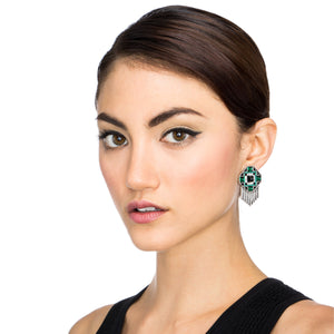 Vaulted Clip On Earring