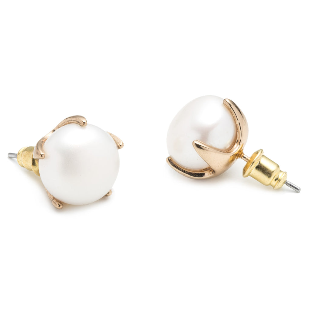 katherine stud by katherineswaine gold earrings original pearl swaine product rose