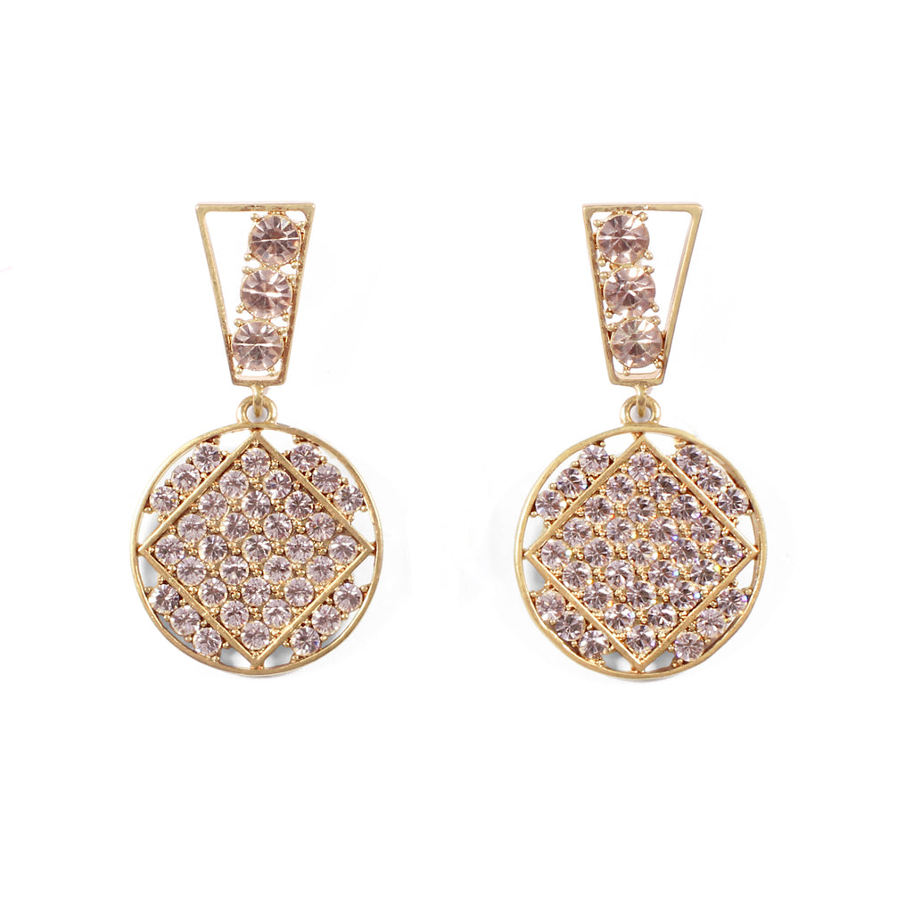 BORA CRYSTAL STATEMENT EARRINGS - Photo