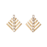 Cascadia Pine Stud Earrings