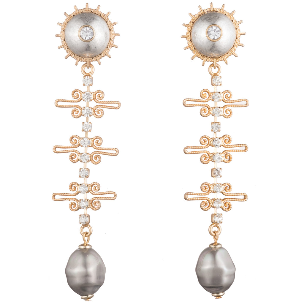 Domus Post Drop Earring