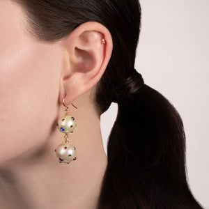 Boboli Double Drop Earring