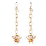 Carlotta Link Drop Earring