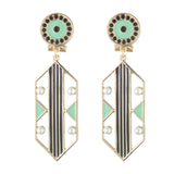 Verto Statement Post Drop Earring