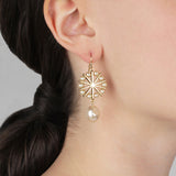 Cura Wire Drop Earring